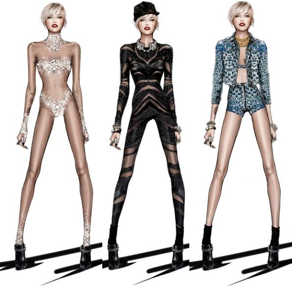 Roberto-Cavalli-Miley-Cyrus-The-Bangerz-Tour-fashionfiles